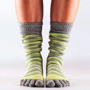 Tå-sokker giver optimale betingelser for din fod og resten af kroppen, når du træner i reformer.